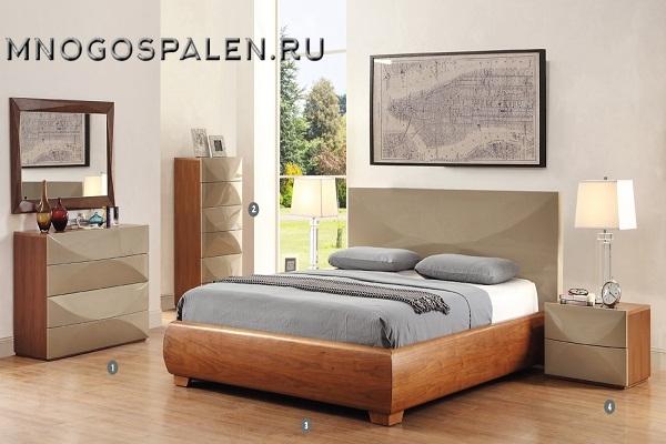 Спальня LAGUNA купить в салоне-студии мебели Барселона mnogospalen.ru много спален мебель Италии классические современные