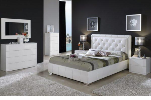 Спальня Dupen 661 Cinderella купить в салоне-студии мебели Барселона mnogospalen.ru много спален мебель Италии классические современные