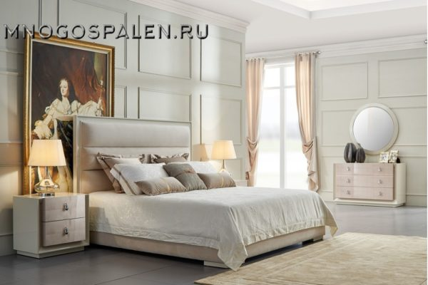 Спальня ROMA купить в салоне-студии мебели Барселона mnogospalen.ru много спален мебель Италии классические современные