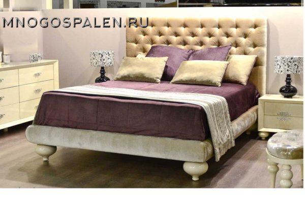 Кровать арт.  FB.BD.PL.177 купить в салоне-студии мебели Барселона mnogospalen.ru много спален мебель Италии классические современные