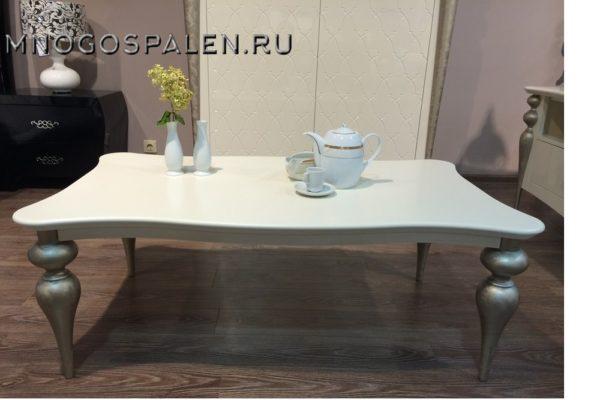Журнальный стол GALIANO PASION купить в салоне-студии мебели Барселона mnogospalen.ru много спален мебель Италии классические современные