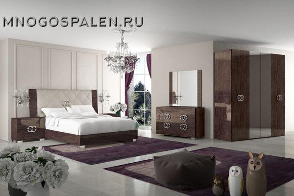 Спальня PRESTIGE купить в салоне-студии мебели Барселона mnogospalen.ru много спален мебель Италии классические современные