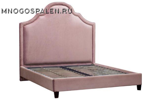 КРОВАТЬ ДВУСПАЛЬНАЯ РОЗОВАЯ купить в салоне-студии мебели Барселона mnogospalen.ru много спален мебель Италии классические современные