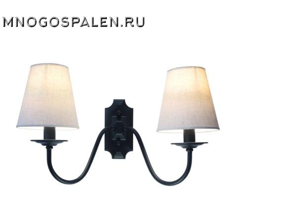Бра  Nero SL684.401.02 (ST Luce) купить в салоне-студии мебели Барселона mnogospalen.ru много спален мебель Италии классические современные