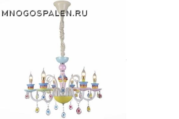 Люстра  Ornato  SL673.783.06 (ST Luce) купить в салоне-студии мебели Барселона mnogospalen.ru много спален мебель Италии классические современные