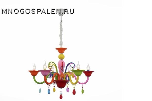 Люстра  Delizia SL672.963.06 (ST Luce) купить в салоне-студии мебели Барселона mnogospalen.ru много спален мебель Италии классические современные