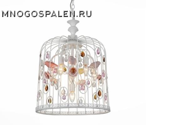 Люстра  SORRISO SL686.653.06 (ST Luce) купить в салоне-студии мебели Барселона mnogospalen.ru много спален мебель Италии классические современные
