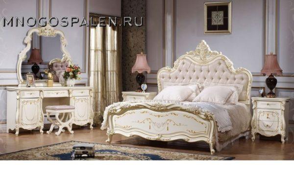 Спальня Магдалена купить в салоне-студии мебели Барселона mnogospalen.ru много спален мебель Италии классические современные