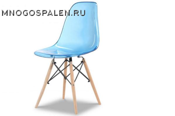 Стул PW071PC blue купить в салоне-студии мебели Барселона mnogospalen.ru много спален мебель Италии классические современные
