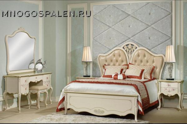 Спальня Бланш купить в салоне-студии мебели Барселона mnogospalen.ru много спален мебель Италии классические современные