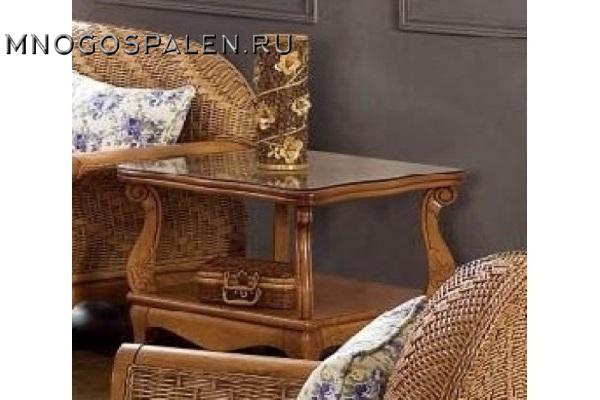 Чайный стол из ротанга арт.6026 купить в салоне-студии мебели Барселона mnogospalen.ru много спален мебель Италии классические современные