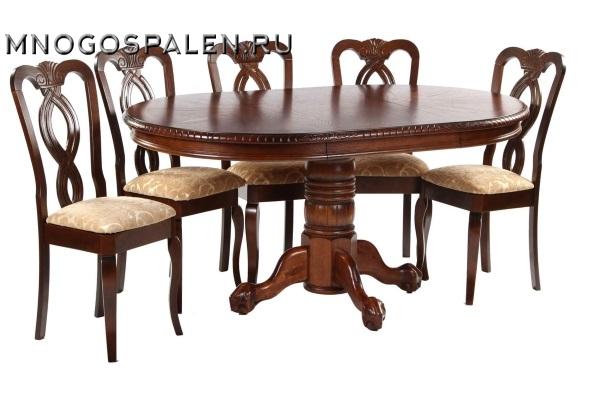 Стол HNDT - 4872 SWC купить в салоне-студии мебели Барселона mnogospalen.ru много спален мебель Италии классические современные