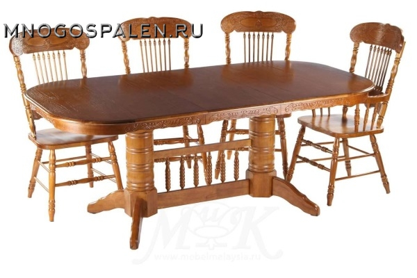 Стол RNDT - 4296 PCP купить в салоне-студии мебели Барселона mnogospalen.ru много спален мебель Италии классические современные
