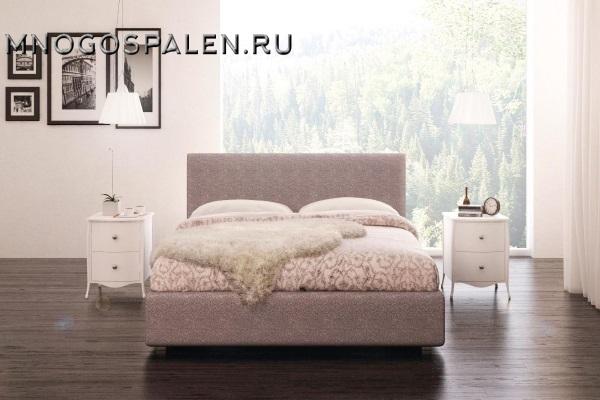 Кровать Tiffany купить в салоне-студии мебели Барселона mnogospalen.ru много спален мебель Италии классические современные