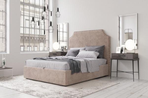 Кровать MOZART купить в салоне-студии мебели Барселона mnogospalen.ru много спален мебель Италии классические современные