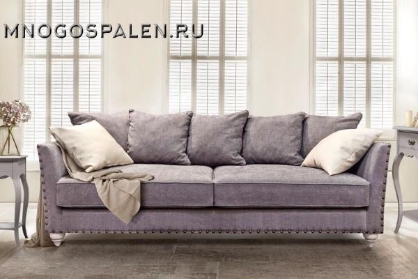 Диван ЖАКЛИН купить в салоне-студии мебели Барселона mnogospalen.ru много спален мебель Италии классические современные