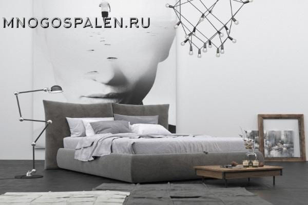 Кровать Celeste купить в салоне-студии мебели Барселона mnogospalen.ru много спален мебель Италии классические современные