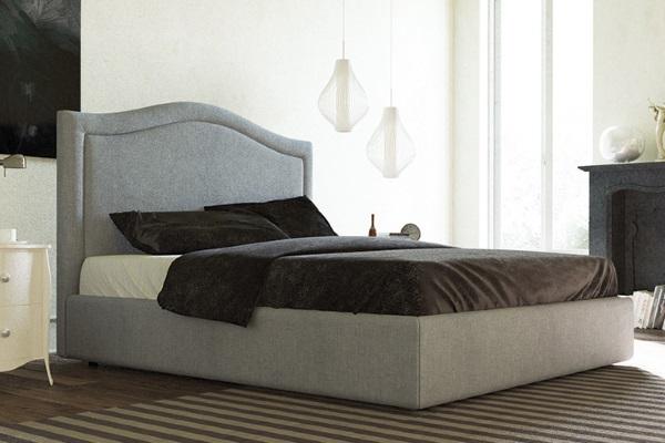 Кровать Calvaro купить в салоне-студии мебели Барселона mnogospalen.ru много спален мебель Италии классические современные