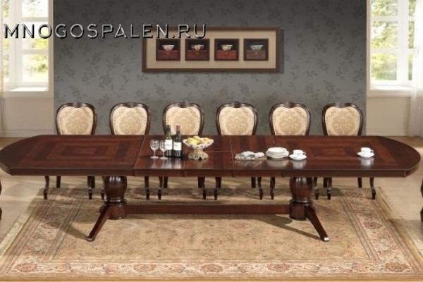 Стол JT-T10EX3L2 Jupiter купить в салоне-студии мебели Барселона mnogospalen.ru много спален мебель Италии классические современные