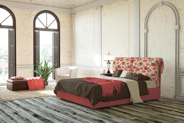 Кровать Etnica купить в салоне-студии мебели Барселона mnogospalen.ru много спален мебель Италии классические современные