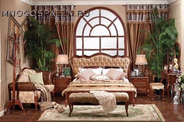 Cпальня Амост 201 купить в салоне-студии мебели Барселона mnogospalen.ru много спален мебель Италии классические современные