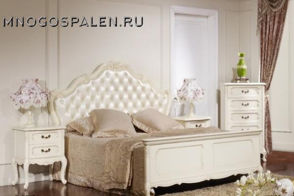 Cпальня Лючия 3255 купить в салоне-студии мебели Барселона mnogospalen.ru много спален мебель Италии классические современные