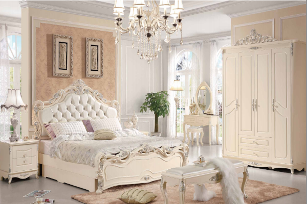 Спальня Виктория 8802 купить в салоне-студии мебели Барселона mnogospalen.ru много спален мебель Италии классические современные