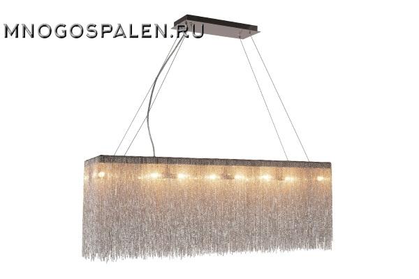 Подвесной светильник Crystal Lux CORONA SP16 L1000 CHROME купить в салоне-студии мебели Барселона mnogospalen.ru много спален мебель Италии классические современные