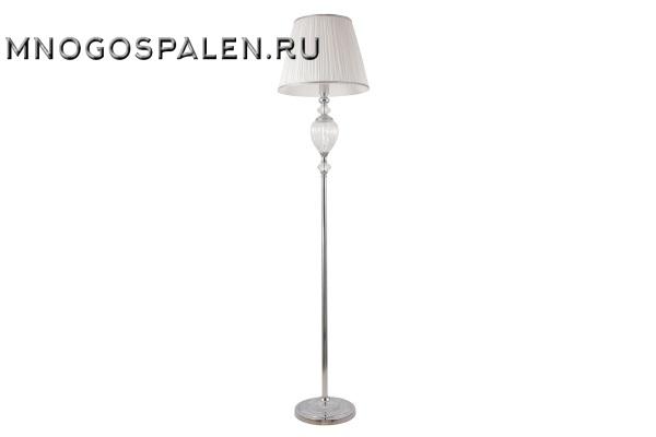 Торшер Crystal lux Alma WHITE PT1 купить в салоне-студии мебели Барселона mnogospalen.ru много спален мебель Италии классические современные