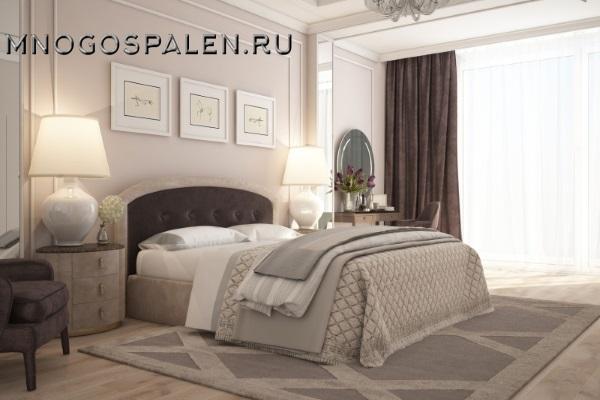 Кровать Oriana (Ориана) купить в салоне-студии мебели Барселона mnogospalen.ru много спален мебель Италии классические современные