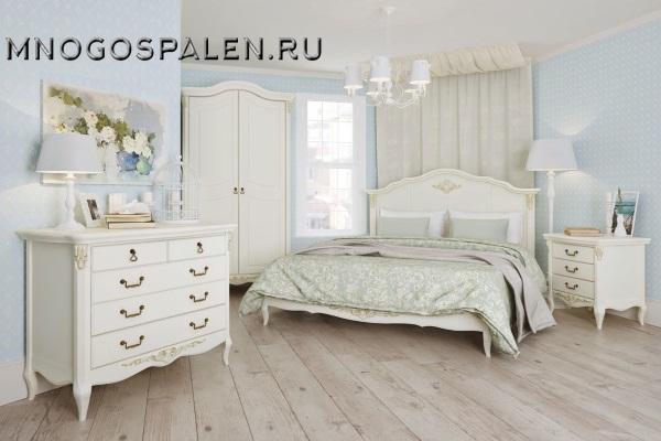 Спальня Romantic купить в салоне-студии мебели Барселона mnogospalen.ru много спален мебель Италии классические современные