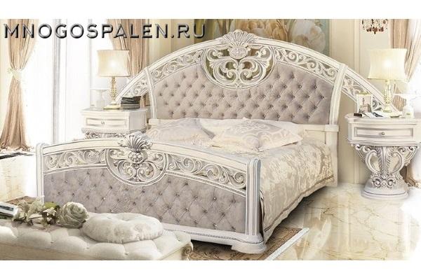 Спальня Марелла купить в салоне-студии мебели Барселона mnogospalen.ru много спален мебель Италии классические современные