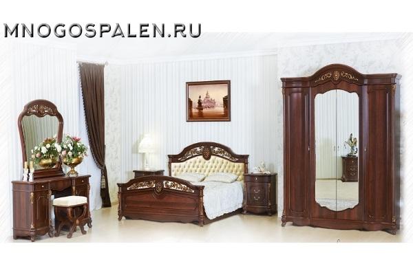 Спальня Афина купить в салоне-студии мебели Барселона mnogospalen.ru много спален мебель Италии классические современные