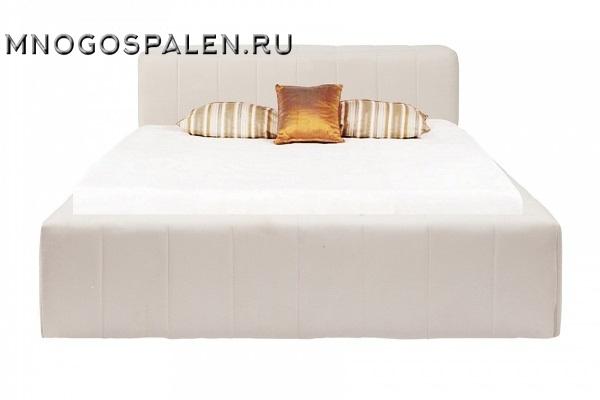 КРОВАТЬ BONALDO 135Х190 БЕЛАЯ Р купить в салоне-студии мебели Барселона mnogospalen.ru много спален мебель Италии классические современные