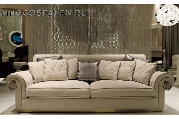 Диван Divano GM 28 купить в салоне-студии мебели Барселона mnogospalen.ru много спален мебель Италии классические современные