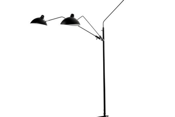 Напольный светильник Tripod Mouille 3 лампы  1507 купить в салоне-студии мебели Барселона mnogospalen.ru много спален мебель Италии классические современные