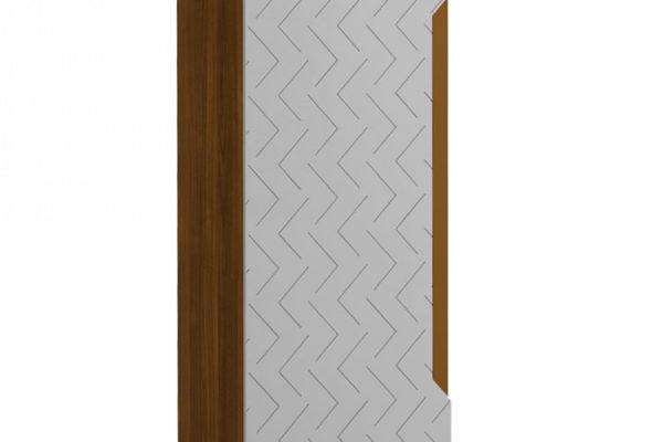 Шкаф 1-створчатый универсальный Сканди Грей купить в салоне-студии мебели Барселона mnogospalen.ru много спален мебель Италии классические современные