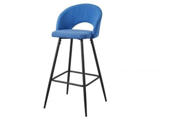 Барный стул DC-873 Blue купить в салоне-студии мебели Барселона mnogospalen.ru много спален мебель Италии классические современные