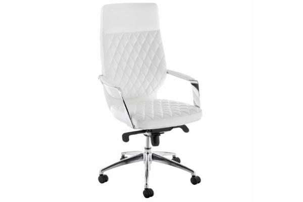 Компьютерное кресло Isida белое купить в салоне-студии мебели Барселона mnogospalen.ru много спален мебель Италии классические современные