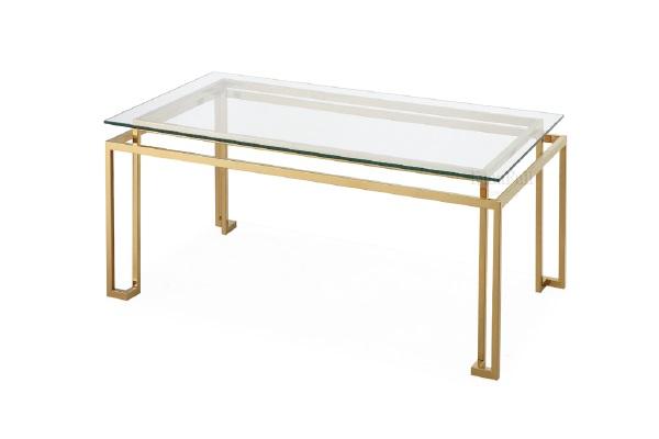 Стол журнальный для гостиной (золото) KFG060 купить в салоне-студии мебели Барселона mnogospalen.ru много спален мебель Италии классические современные