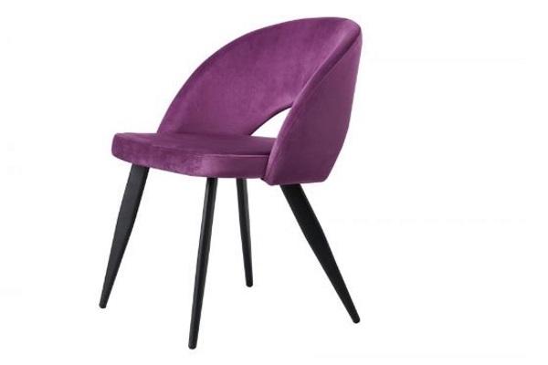 Стул DC-9507 пурпурный купить в салоне-студии мебели Барселона mnogospalen.ru много спален мебель Италии классические современные