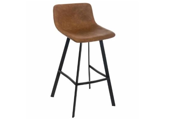 Барный стул Bruge Bar-W CColl T-1000 cinnamon nubuk купить в салоне-студии мебели Барселона mnogospalen.ru много спален мебель Италии классические современные