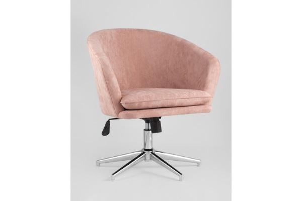 Кресло Харис пыльно-розовое купить в салоне-студии мебели Барселона mnogospalen.ru много спален мебель Италии классические современные